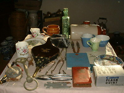 Mixed Job Lot Of Curios And Collectables And Bric A Brac Sold As Seen,