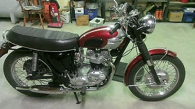 Triumph: Other 1970 Triumph Tiger Motorcycle