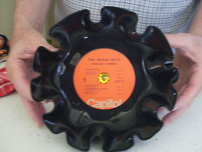BEACH BOYS Recycled NEW ENDLESS SUMMER Handcrafted Record BOWL(1974)