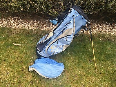 cobra stand bag With Dunlop Clubs - Irons, Driver, 3 & 5 Wood, Putter
