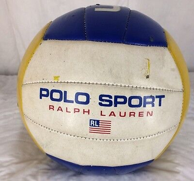 Vintage Ralph Lauren Polo Sport USA Athlete Volleyball 1997 Rawlings