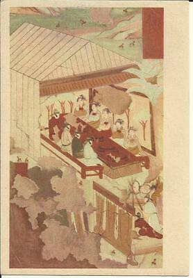 China Tang Dynasty (618-907) The Feast Vintage Post Card (Cave No. 473)