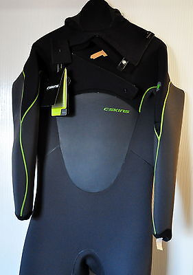 C-Skins Wetsuits - C-Skins Hotwired 5/4mm Hooded Chest Zip Wetsuit