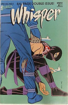 First Comics Whisper #1  Special Double Issue