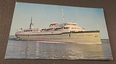 CRUISE SHIPS- Postcard --S.S. MILWAUKEE  CLIPPER---GREAT LAKES