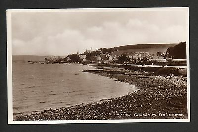 Port Bannatyne - General view - real photographic postcard