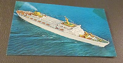 Postcard...., CRUISE SHIPS ..S/S OCEANIC---HOME LINES