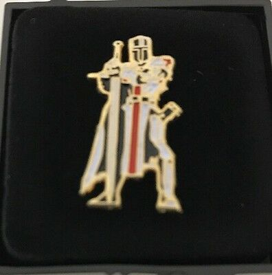 Freemason Knights Templar Lapel Pin