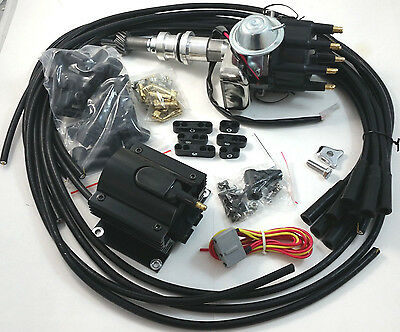 sbf ford v coil hei distributor k volt sbf small block ford 260 289 302 ready to run small cap distributor coil kit