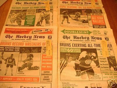The hockey news magizine  month  march 1971