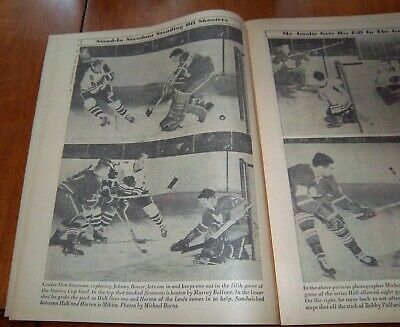 The hockey news magizine  month  october 1971