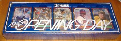 donruss opening day   factory set 1987