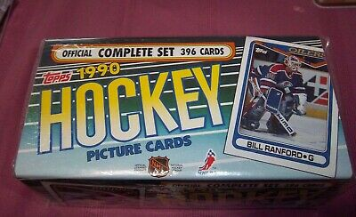 topps hockey 1990  factory set