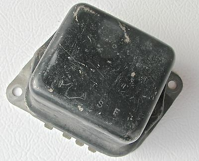 OEM 1964, 1965 Mustang Voltage Regulator - I.A.S.F. on cover ; # C5FT-10316-A