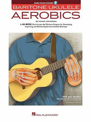 Baritone Ukulele Aerobics Beginner To Advanced Learn Play UKE Music Book
