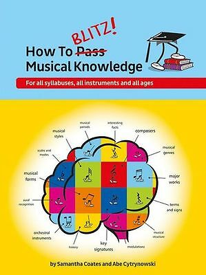 How To Blitz Musical Knowledge Learn to Play ABRSM EXAM Preparation Music Book