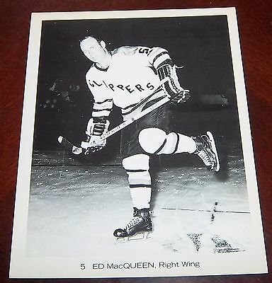 Baltimore Clippers Ed MacQueen 1970-1971  from the Woody Ryan Collection
