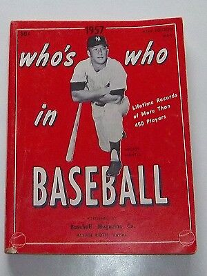 Who's Who in Baseball 1957 Mickey Mantle