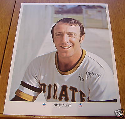 pittsburgh pirates player photos 1971    gene alley
