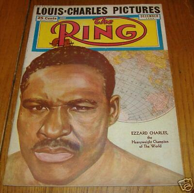 the ring magizine  dec 1950       ezzard charles