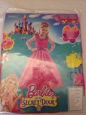 Barbie and the Secret Door - Vestito Abito per Bambina 3-5 Anni 104cm - Nuovo