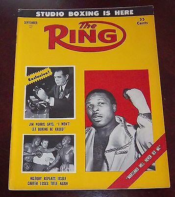 The Ring Magazine September 1955 Archie Moore  Collectable