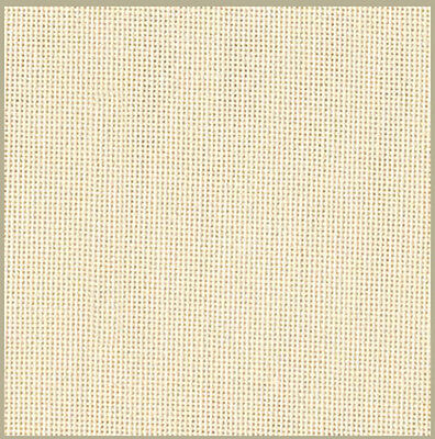 Zweigart 27 count evenweave for cross stitch - 43 cms x 28 cms