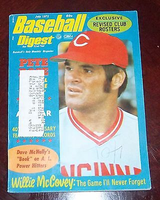 Baseball Digest July 1973  Pete Rose