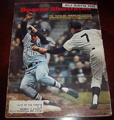 Sports Illustrated  May 8 1967 Mickey Mantle