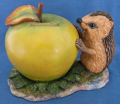 Rare Country Artists Hedgies Hedgehog Hedge Funds Money Box Bank Boxed