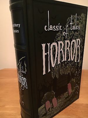 Classic Tales Of Horror Leather Bound Hardback Book