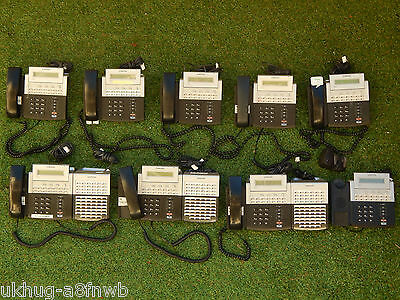 Samsung OfficeServ DS-5014S x9 Phones Telephones & DS-5064B DSS AOM Consoles x3