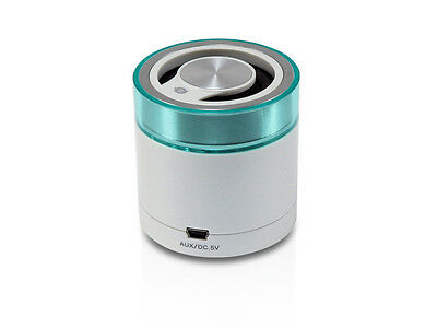 Conceptronic Bluetooth Travel Stereo Speaker whi