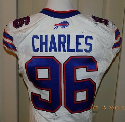 Game worn jersey Buffalo Bills NFL Charles