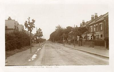 Hanworth Road Hounslow Middlesex RP old pc used 1913 ABC