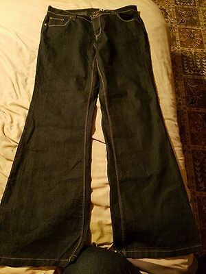 New Look bootcut dark blue jeans size 16