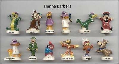 FANTASTIC MINIATURE PORCELAIN, HANNA BARBERA COLLECTION SET yogi bear,boo boo
