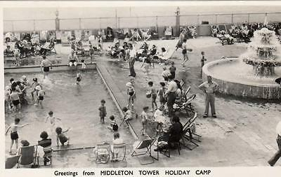Middleton Tower Holiday Camp Morecambe RP pc used 1953 Arrow series