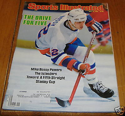 sports illustrated  may 14  1984   mike bossy