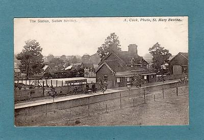 Railway Station Sutton Scotney Winchester Andover Micheldever Station postmark