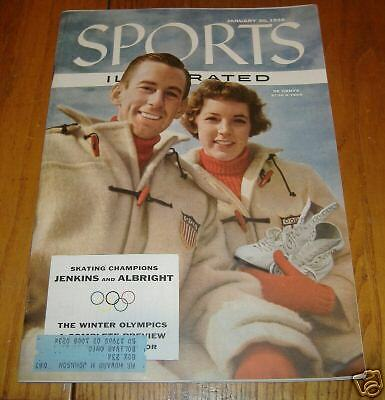 sports illustrated  jan 30  1956  jenkins and albright