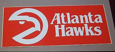 Decals NBA Atlanta Hawks   logo  1980's  Basketball # 2