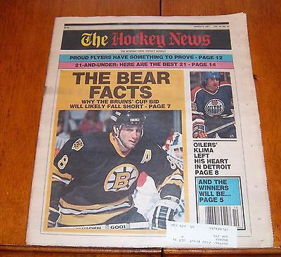 the hockey news march 8 1991 cam neely