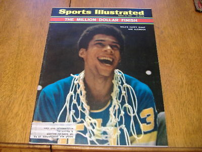 sports illustrated  march  31 1969   lew alcindor