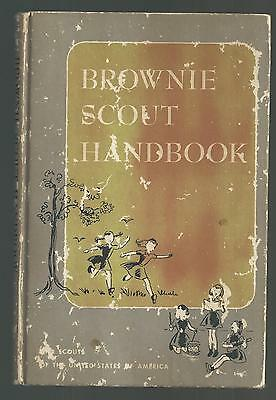 BROWNIE SCOUT HANDBOOK  1951  VG  Girl Scouts of U.S.A.