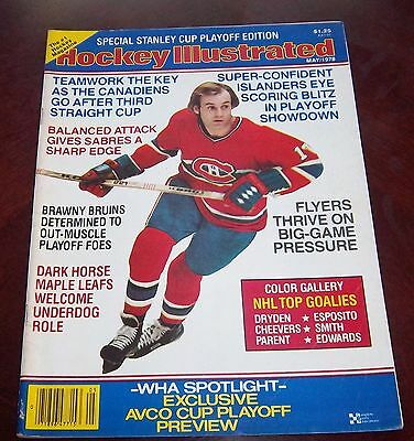 Hockey illustrated  May 1978  Guy Lafleur  with color inserts