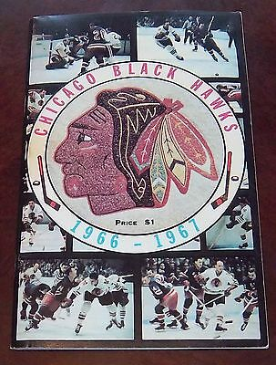 Chicago Black Hawks Guide or Fact book 1966-1967