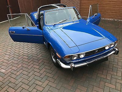 Triumph Stag 1974 Manual With Overdrive And A V6 Ford Essex Engine