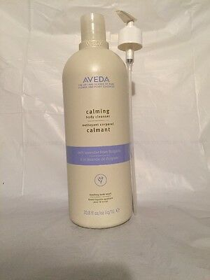Aveda Calming Body Cleanser with Lavender 33.8 fl oz.(plus pump)