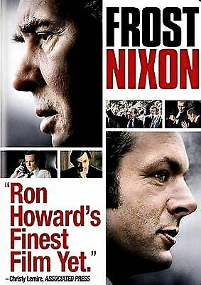 BRAND NEW DVD // Frost Nixon // RON HOWARD // FRANK LANGELLA, MARTIN SHEEN